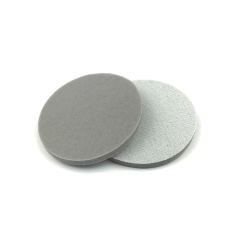 "3"" 220 Grit Heavy-duty Sponge-Backed Hook & Loop Sanding Discs"