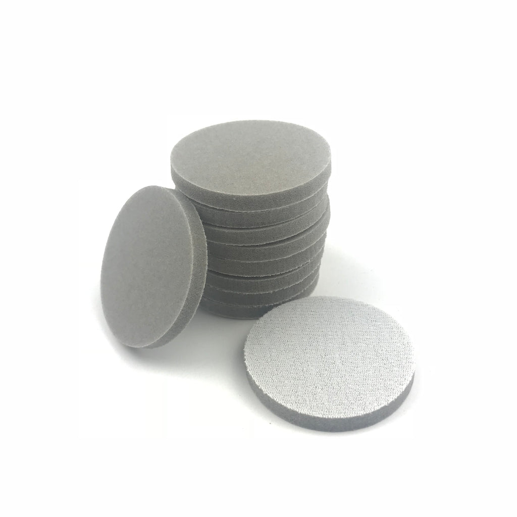 "2"" 220 Grit Heavy-duty Sponge-Backed Hook & Loop Sanding Discs"