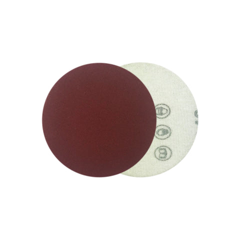 "2"" 240 Grit Red Grain Hook & Loop Sanding Discs, 10 Discs"