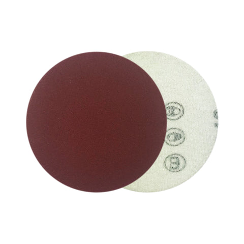 "3"" 240 Grit Red Grain Hook & Loop Sanding Discs, 10 Discs"