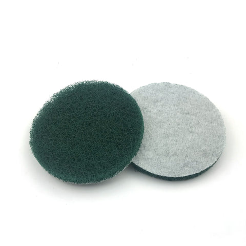 "5"" Coarse(240 Grit) Round Heavy Duty Hook and Loop Scouring Pads"