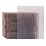 "5.5 x 4.5""(140 x 115mm)240 Grit Hook & Loop or Clip on Sander Pads,Mesh Dust Free Sandpaper, 10PCS"