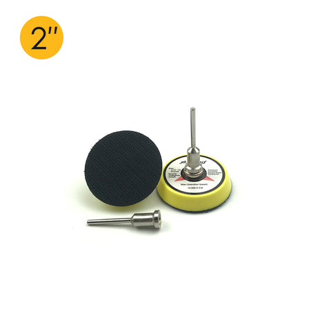 "2"" x 3mm Shank Hook & Loop Back-up Sanding Pads"