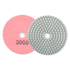 "4"" 3000 Grit Diamond Wet/Dry Hook & Loop Polishing Discs"