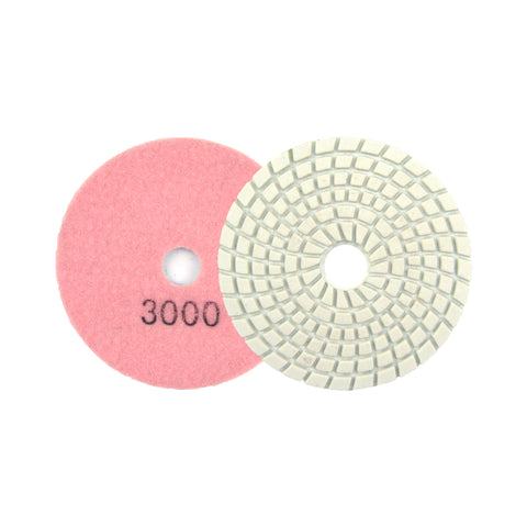 "3"" 3000 Grit Diamond Wet/Dry Hook & Loop Polishing Discs"