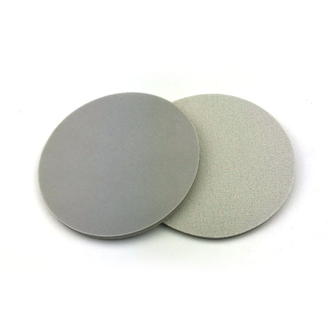 "5"" 320 Grit Heavy-duty Sponge-Backed Hook & Loop Sanding Discs"