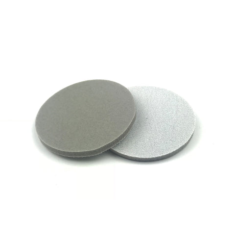 "3"" 320 Grit Heavy-duty Sponge-Backed Hook & Loop Sanding Discs"
