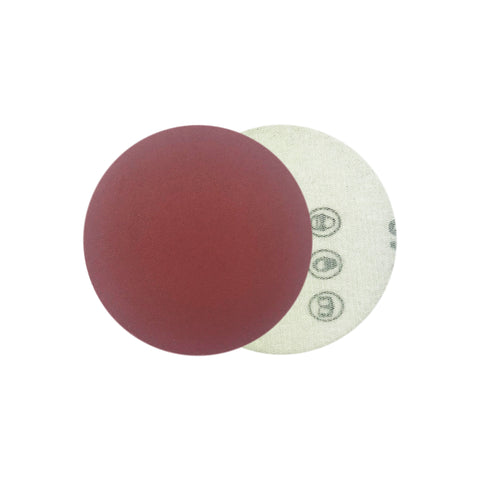 "2"" 320 Grit Red Grain Hook & Loop Sanding Discs, 10 Discs"