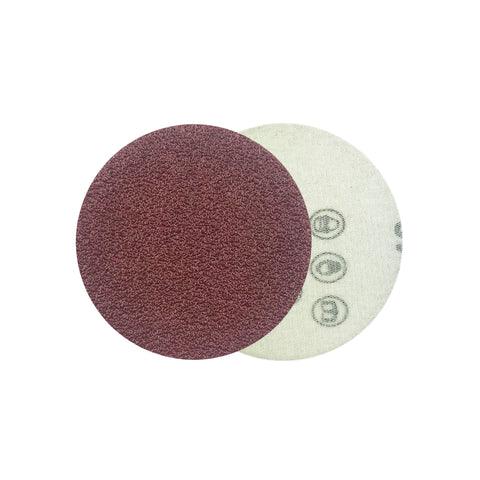 "2"" 40 Grit Red Grain Hook & Loop Sanding Discs, 10 Discs"