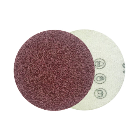 "3"" 40 Grit Red Grain Hook & Loop Sanding Discs, 10 Discs"