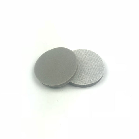 "2"" 400 Grit Heavy-duty Sponge-Backed Hook & Loop Sanding Discs"