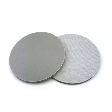 "5"" 400 Grit Heavy-duty Sponge-Backed Hook & Loop Sanding Discs"