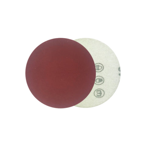 "2"" 400 Grit Red Grain Hook & Loop Sanding Discs, 10 Discs"