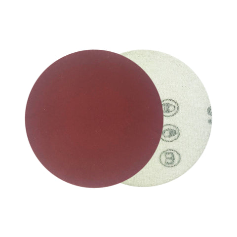 "3"" 400 Grit Red Grain Hook & Loop Sanding Discs, 10 Discs"