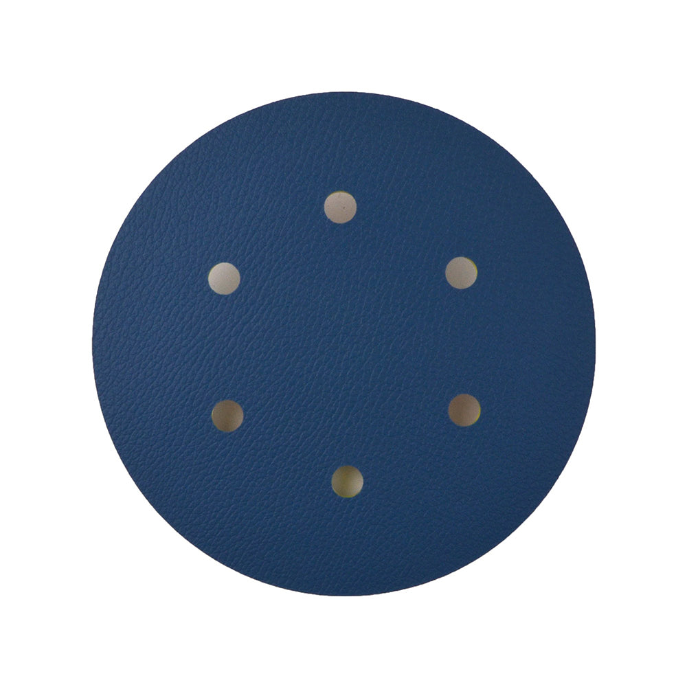 "6"" (150mm) x 5/16-24 Male 6 Holes PSA Back-up Sanding Pads"