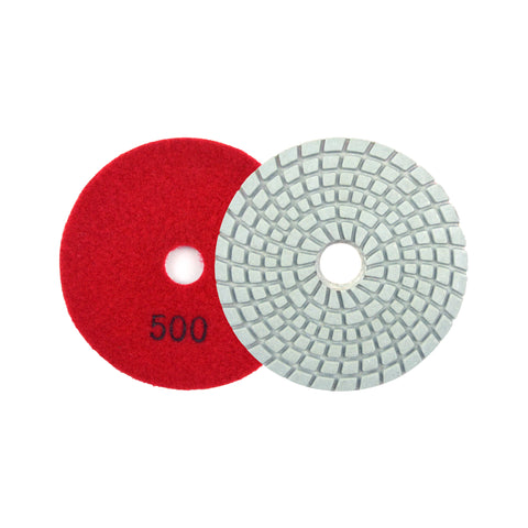 "3"" 500 Grit Diamond Wet/Dry Hook & Loop Polishing Discs"