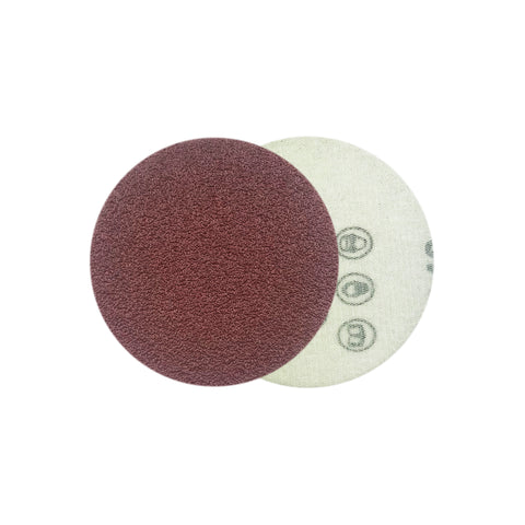 "2"" 60 Grit Red Grain Hook & Loop Sanding Discs, 10 Discs"