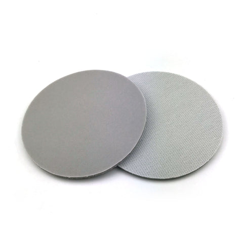 "5"" 600 Grit Heavy-duty Sponge-Backed Hook & Loop Sanding Discs"