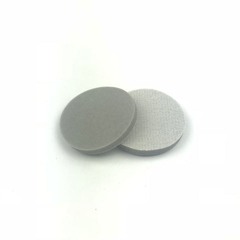 "2"" 600 Grit Heavy-duty Sponge-Backed Hook & Loop Sanding Discs"