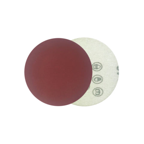 "2"" 600 Grit Red Grain Hook & Loop Sanding Discs, 10 Discs"