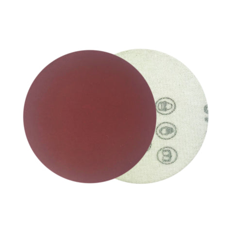 "3"" 600 Grit Red Grain Hook & Loop Sanding Discs, 10 Discs"