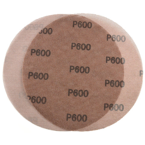 "9"" (220mm) 600 Grit Hook & Loop or Clip on Sander Pads,Mesh Dust Free Sanding Discs, 10 Discs"