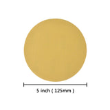 "5"" (125mm) 600 Grit Yellow Hook&Loop Sanding Discs for Dry Sanding, 10 Discs"
