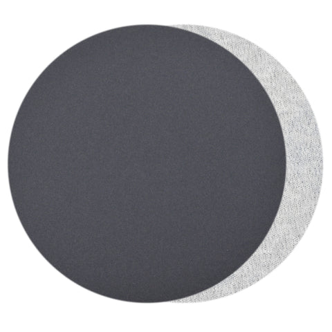 "7""  (180mm) 600 Grit Silicon Carbide Wet/Dry Hook & Loop Sanding Discs, 10 Discs"