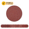"6"" (150mm) Red Grain Hook & Loop Sanding Discs (40-2000 Grit), 1 Disc"