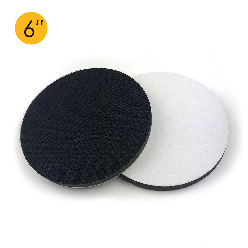 "6"" (150mm) Soft Sponge Hook & Loop Surface Protection Interface Buffer Backing Pad"