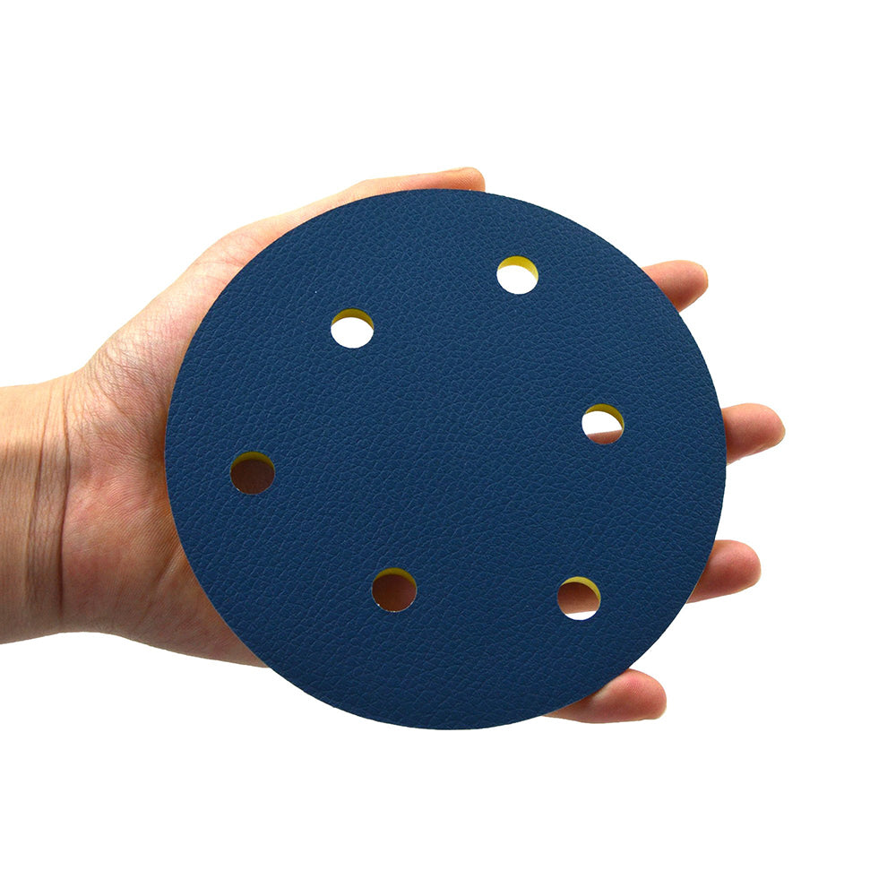 "5"" (125mm) x 5/16-24 Male 6 Holes PSA Back-up Sanding Pads"
