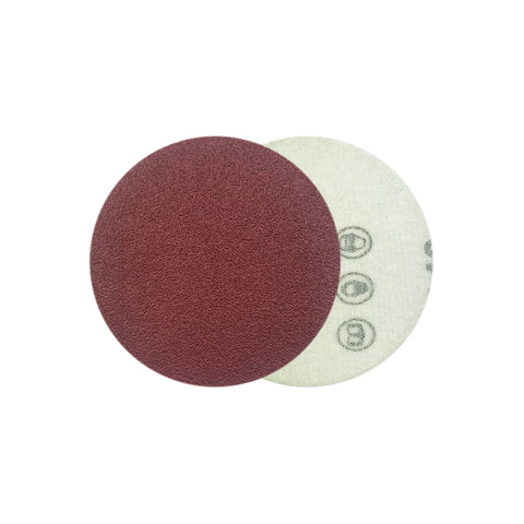 "2"" 80 Grit Red Grain Hook & Loop Sanding Discs, 10 Discs"