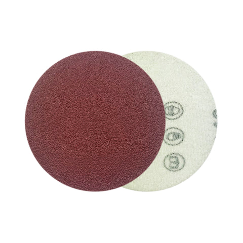 "3"" 80 Grit Red Grain Hook & Loop Sanding Discs, 10 Discs"