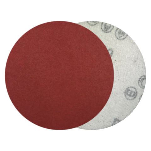 "4"" 800 Grit Red Grain Hook & Loop Sanding Discs, 10  Discs"