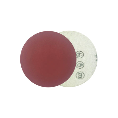 "2"" 800 Grit Red Grain Hook & Loop Sanding Discs, 10 Discs"