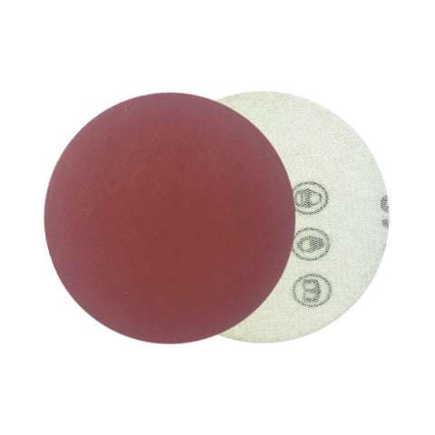"3"" 800 Grit Red Grain Hook & Loop Sanding Discs, 10 Discs"