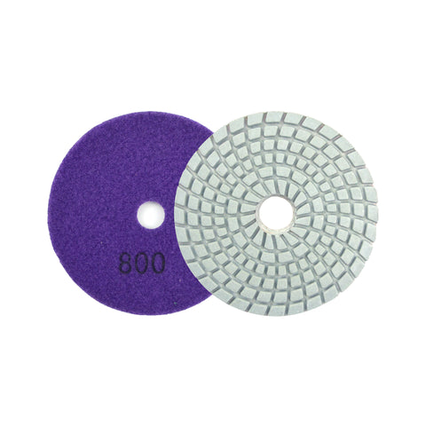 "3"" 800 Grit Diamond Wet/Dry Hook & Loop Polishing Discs"