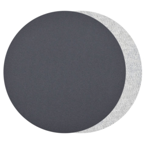 "7""  (180mm) 800 Grit Silicon Carbide Wet/Dry Hook & Loop Sanding Discs, 10 Discs"