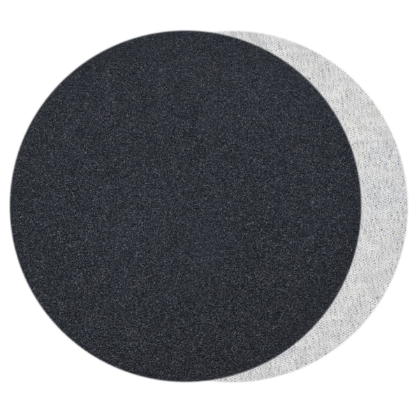 "7""  (180mm) 80 Grit Silicon Carbide Wet/Dry Hook & Loop Sanding Discs, 10 Discs"