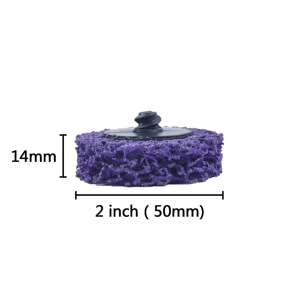 "2"" (50mm) Type R Purple Diamond Grinding Wheels"
