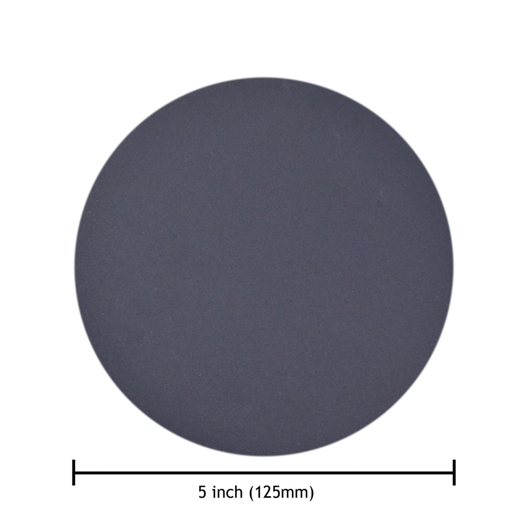 "5"" 1000 Grit Silicon Carbide Wet/Dry Hook & Loop Sanding Discs, 10 Discs"