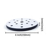 "6"" (150mm) 17-Hole Soft Sponge Dust-free Interface Buffer Backing Pads"