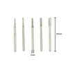3mm Shank Diamond Mounted Points Alloy Grinding Needle, 30pcs Set