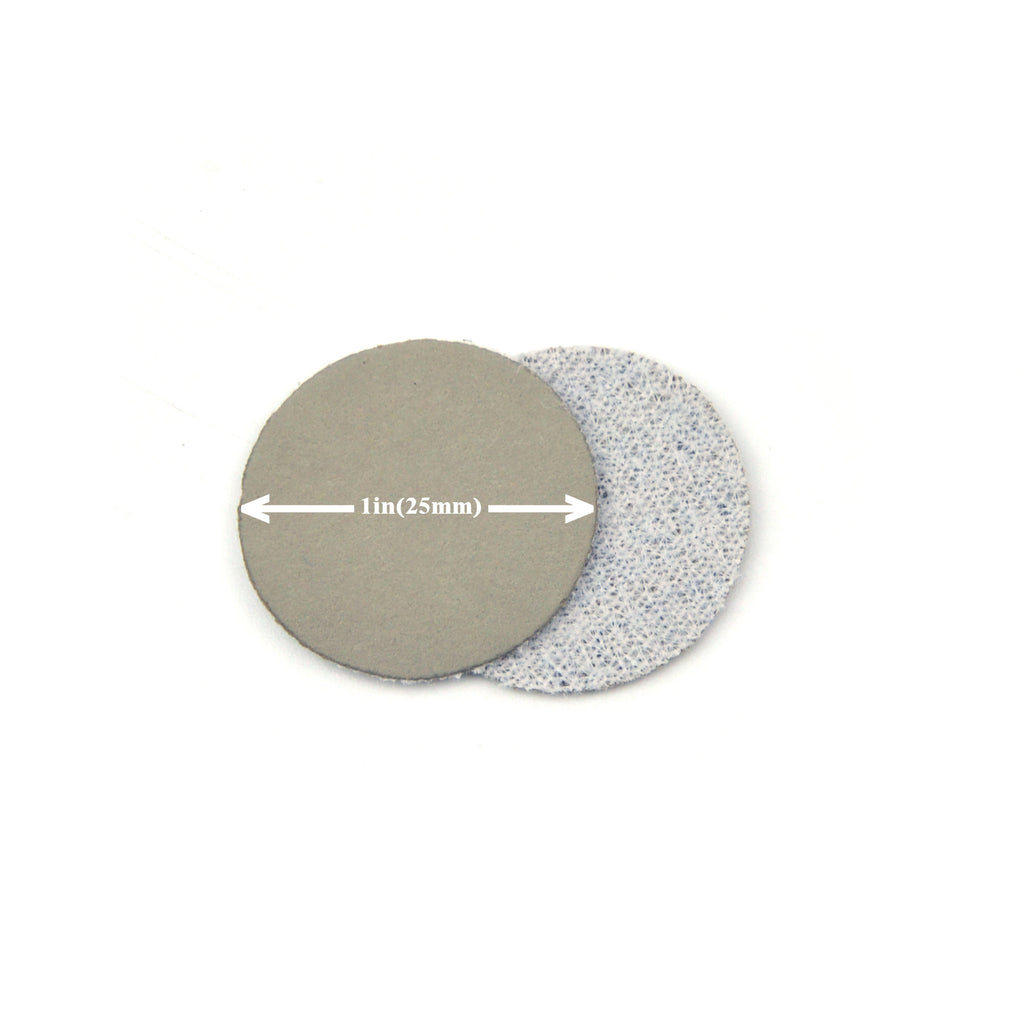 "1"" 4000 Grit Silicon Carbide Wet/Dry Hook & Loop Sanding Discs, 10 Discs"