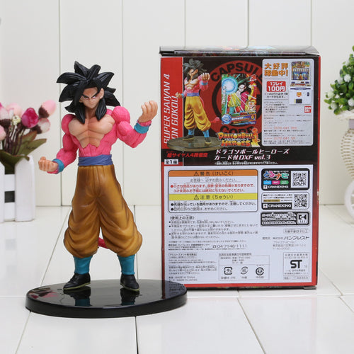 18cm Dragon Ball Z DXF Vol.3 Super Saiyan Son Goku black hair DragonBall Z PVC Action Figure model