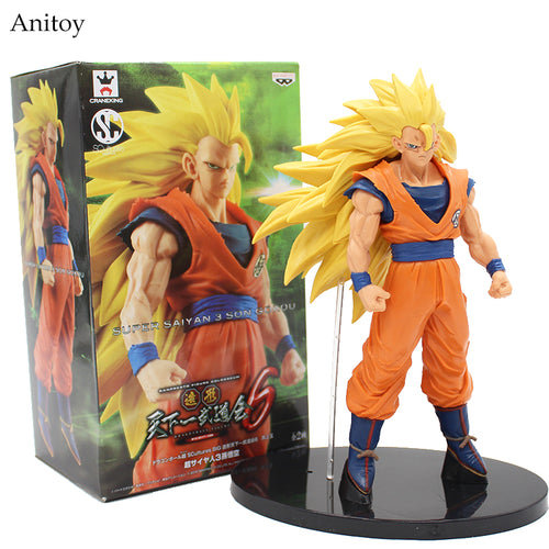 Dragon Ball Z Super saiyan 3 Son Goku Action Figure Collectible Model