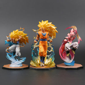 Majin Buu Goku Gotenks PVC Action Figures Tamashii Nations S.H. Figuarts ZERO Super Saiyan Collection Model Dragon Ball Z: EACH FIGURE SOLD SEPARATELY