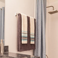 Towel Bar - 24 inch - Stainless Steel - Classic Design in bathroom