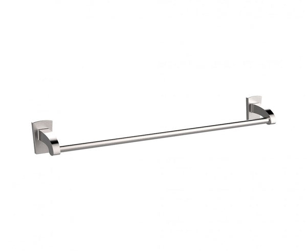 Towel Bar - 24 Inch - Stainless Steel - Minimalist Design in Brushed Nickel