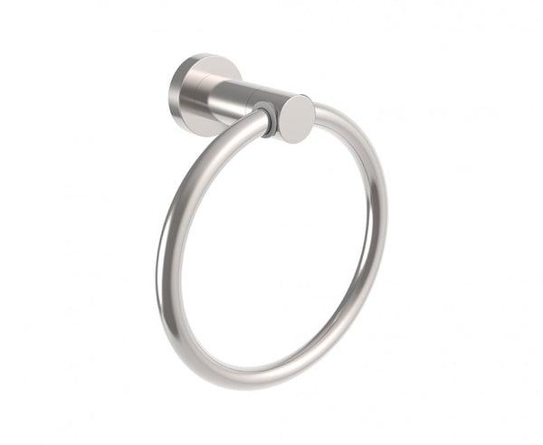 Towel Ring - 7 Inch - Stainless Steel - Sleek Design in Brushed Nickel